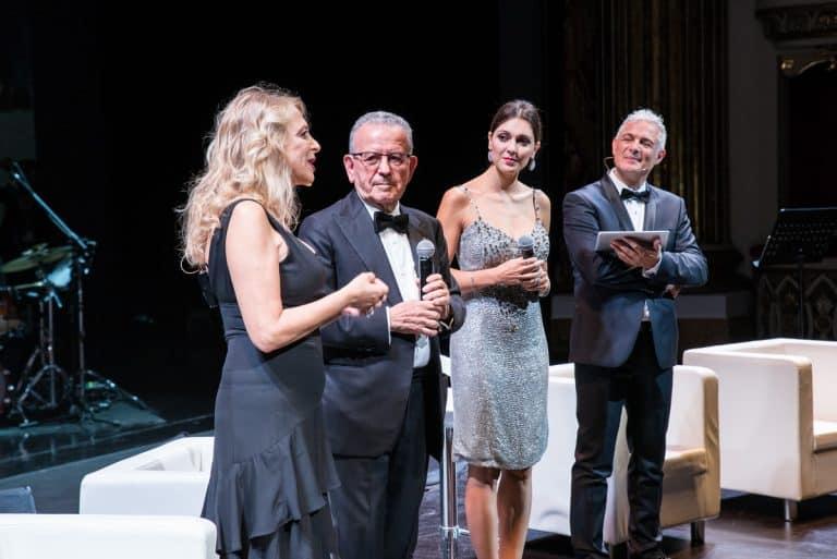 Da sinistra: Emanuela Rossi, Patrizio Podini, Simona Molinari, Piero Muscari.