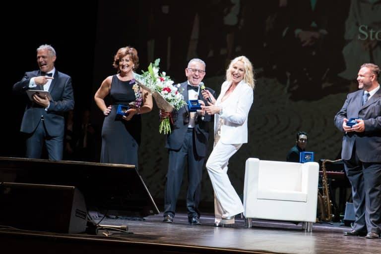 Da sinistra: Piero Muscari Anna Campanile, Patrizio Podini, Antonella Clerici.