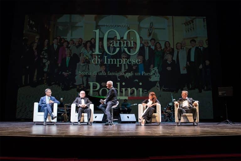 Da sinistra: Piermario Mocchi(Direttore Generale di MD), il Cav. Patrizio Podini, Piero Muscari, Ella e Marco Podini.