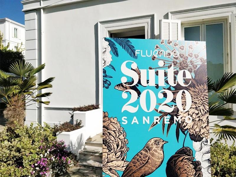 Piero Muscari e le Eccellenze Italiane a Sanremo per seguire l'inaugurazione di Suite 2020