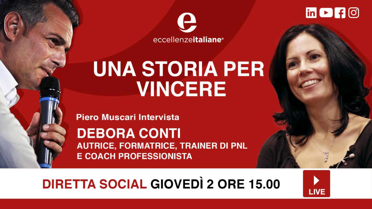 Debora Conti: una storia per vincere! Una storia per crescere