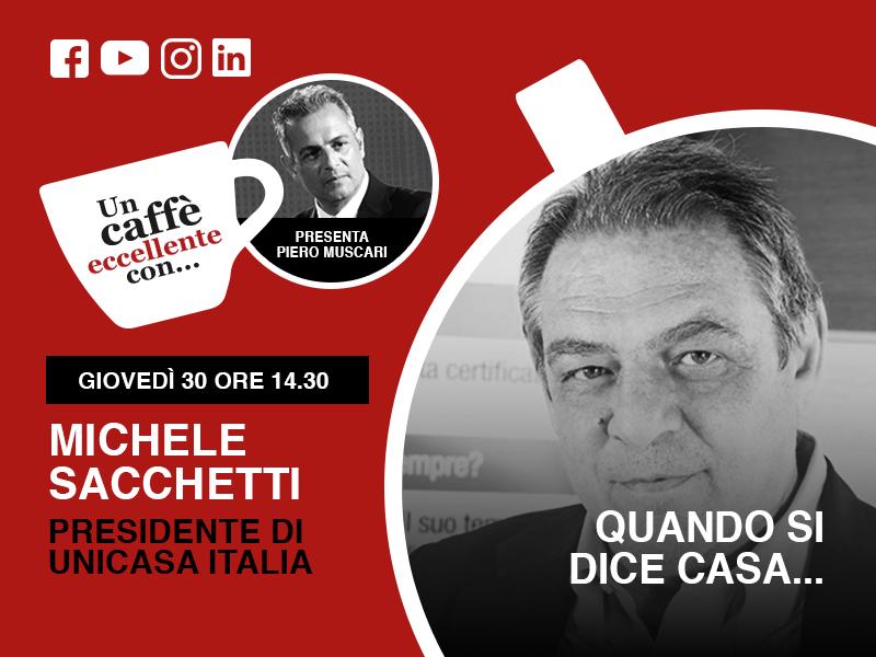 Un caffè eccellente con… Michele Sacchetti