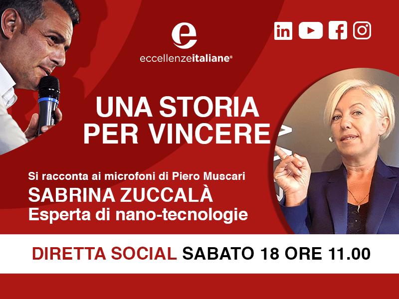 Sabrina Zuccalà: una storia per vincere. Live il 18 Aprile