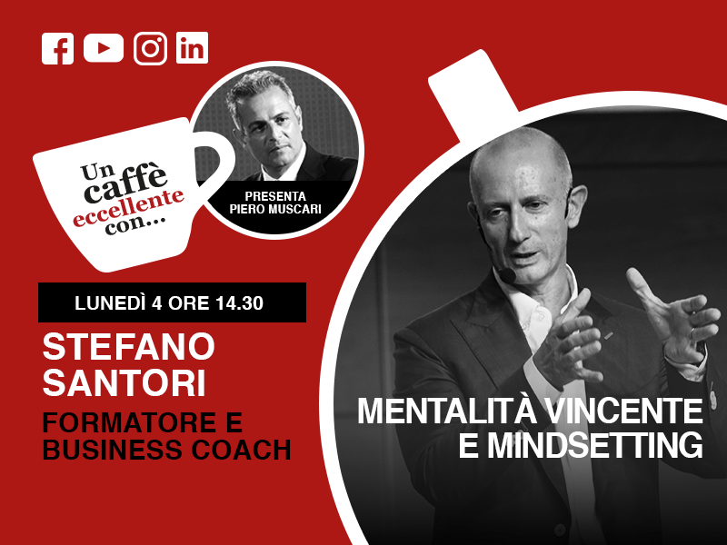 Stefano Santori: un caffè eccellente. Live del 4 Maggio