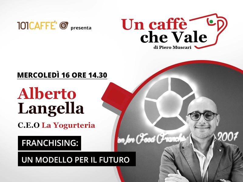 Un Caffè che vale con Alberto Langella - live del 16/09