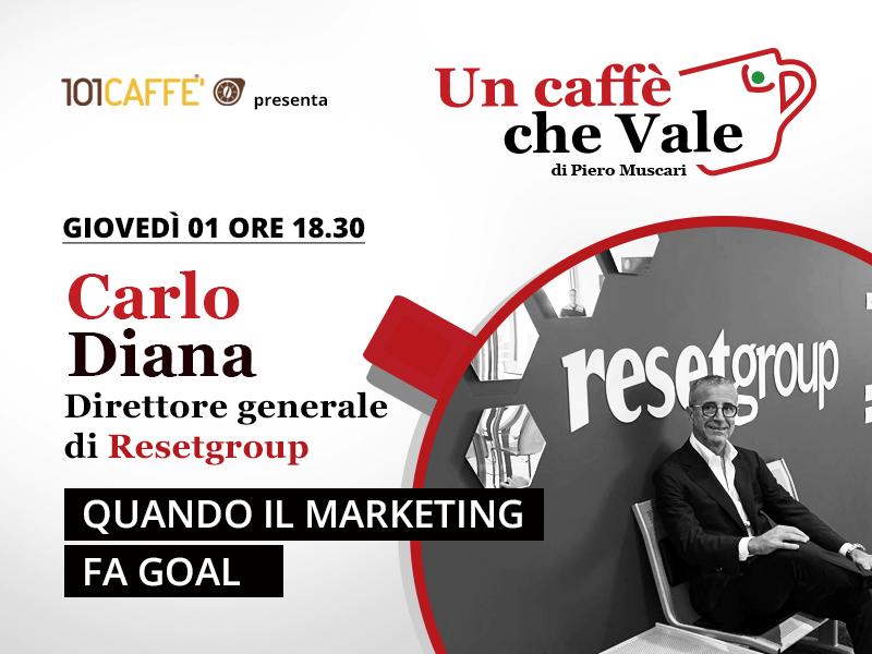 Un caffè che vale con Carlo Diana. Live dell'1 Ottobre 2020.