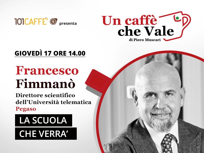 Francesco Fimmanò - un caffè che vale - puntata del 17 Settembre