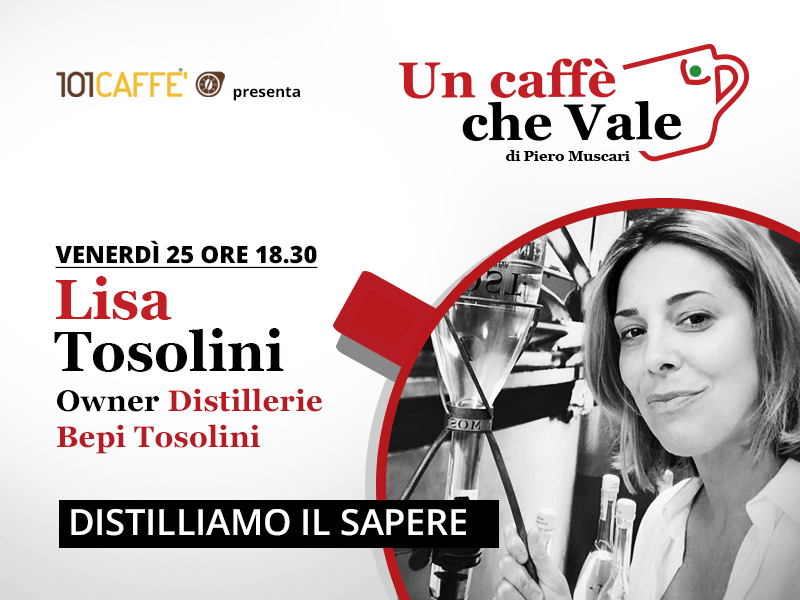 Un caffè che vale con Lisa Tosolini, live del 25 settembre