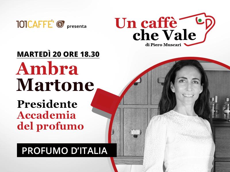 Ambra Martone- un caffè che vale del 20 Ottobre