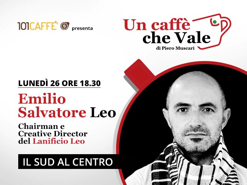 Un caffè che vale con Emilio Leo - live del 26 Ottobre