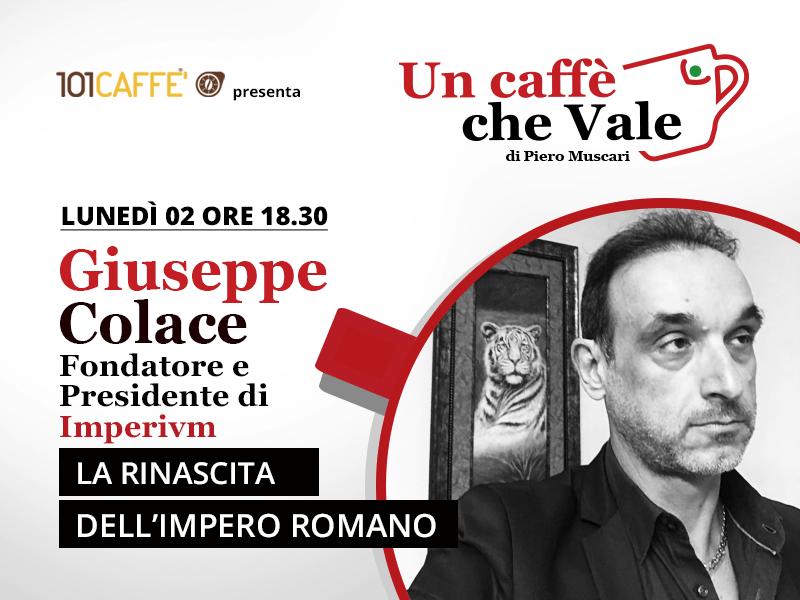 Giuseppe Colace - un caffè che vale del 2 Novembre