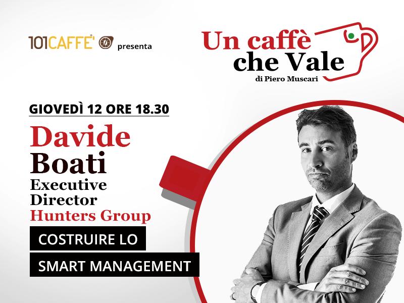 Un caffè che vale con Davide Boati - puntata del 12 Novembre