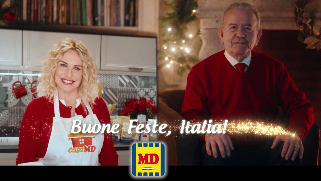 Antonella Clerici e Patrizio Podini