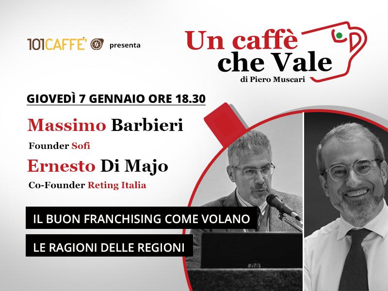 Massimo Barbieri e Ernesto di Majo sono miei ospiti nella puntata del 7 gennaio