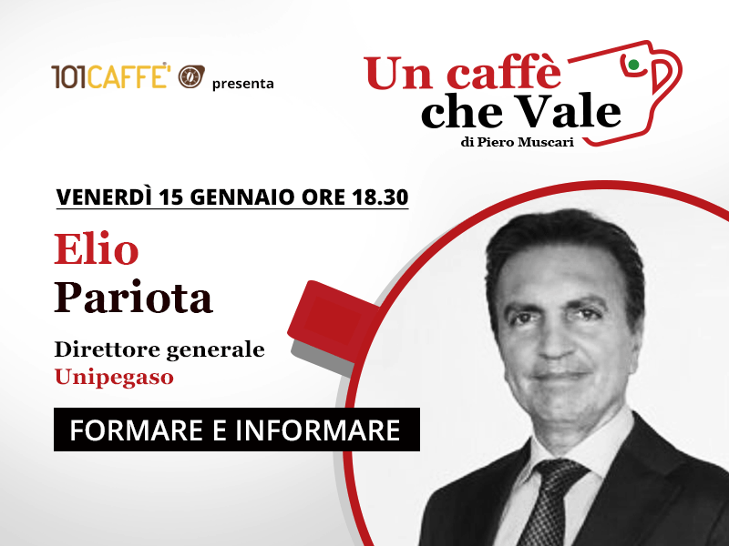 Elio Pariota- un caffè che vale del 15 Gennaio