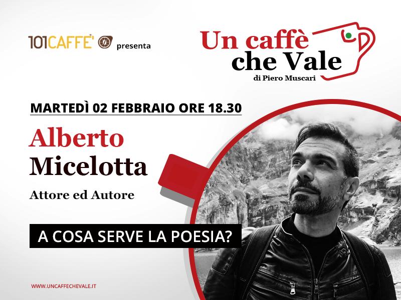 Un caffè che vale con Alberto Micelotta