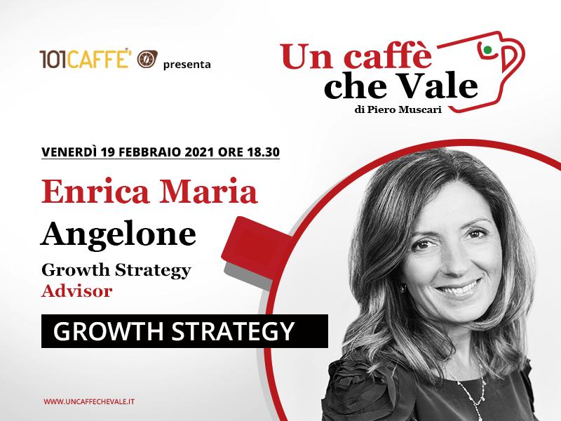 """Enrica Maria Angelone è la mia ospite """"un caffè che vale"""" venerdì 19 Febbraio."""