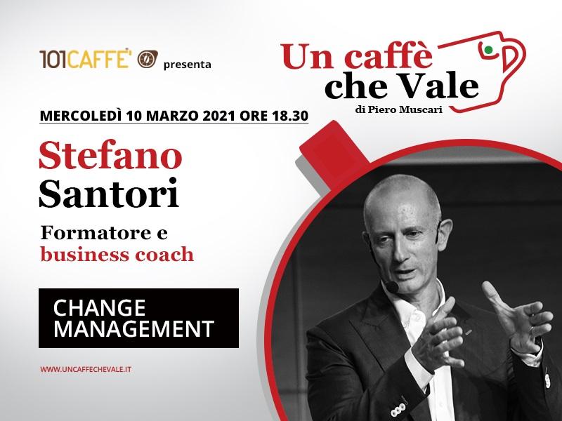 Un Caffè che Vale con Stefano Santori