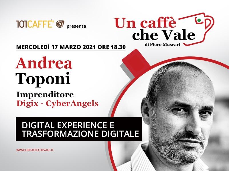 Un Caffè che Vale con Andrea Toponi