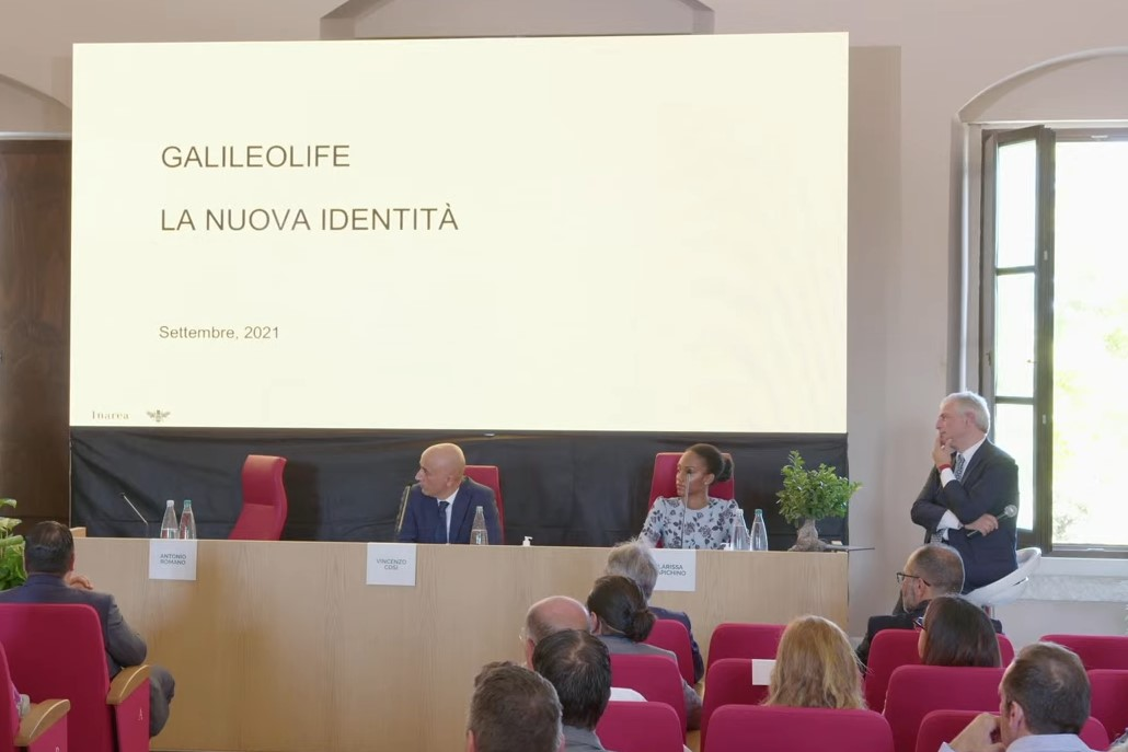 Conferenza stampa GalileoPro e InArea
