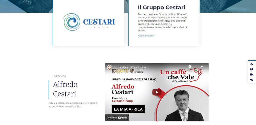 Sito Alfredo C. Cestari