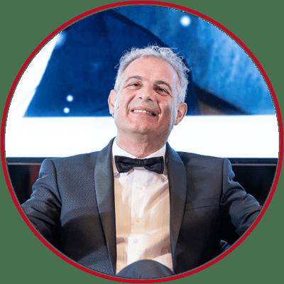 piero gala 2019 con cerchio rosso